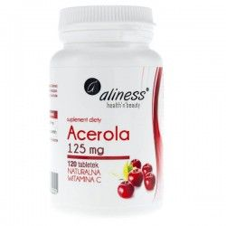 Acerola Natural Vitamin C, 125mg, 120 tablet